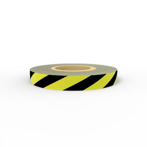 Barrier Group Reflective Tape Yellow/Black Class 2 - 50mm x 5m - Barrier Group - Ramp Champ