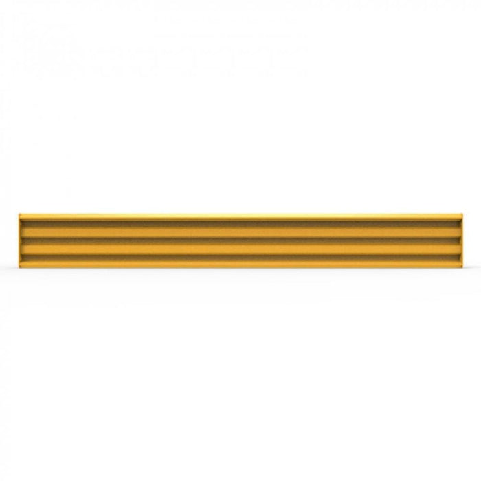Barrier Group Rib-Rail with Fixings - Powder Coated Safety Yellow - Barrier Group - Ramp Champ