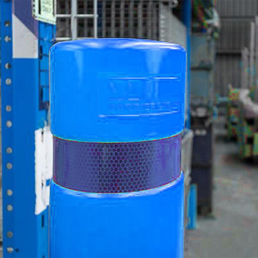 Barrier Group Skinz Bollard Sleeve 145mm Diameter, 1400mm High - Blue - Barrier Group - Ramp Champ