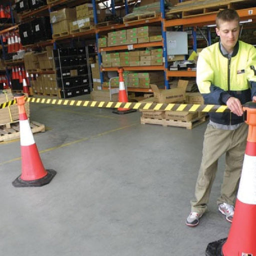 Barrier Group Pilot Retractable Tape Barrier - Barrier Group - Ramp Champ