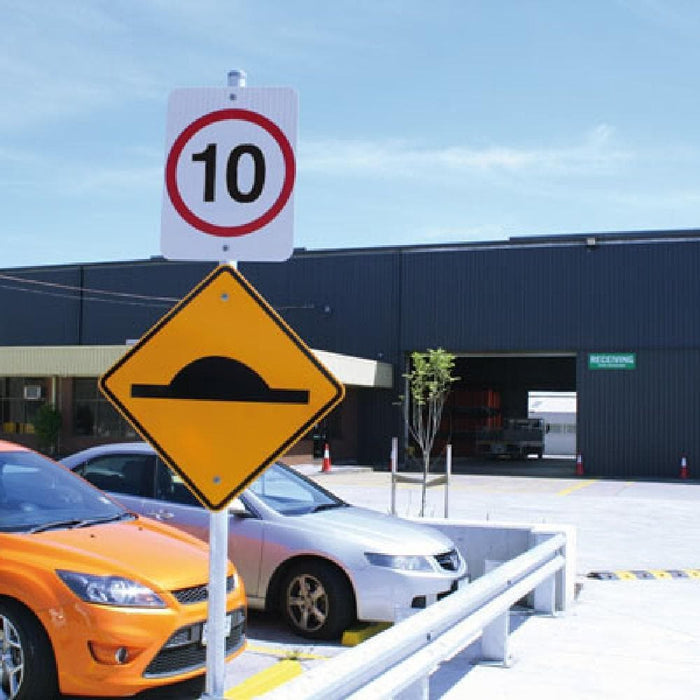 Barrier Group Speed Hump Sign - Barrier Group - Ramp Champ
