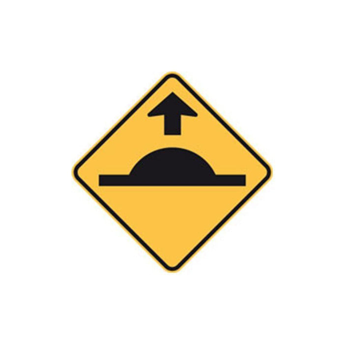 Barrier Group Speed Hump Sign with Arrow - Barrier Group - Ramp Champ