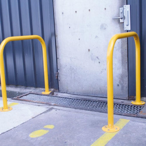 Barrier Group U-Bar Single Rail/ Bike Rail - Standard Duty - Barrier Group - Ramp Champ