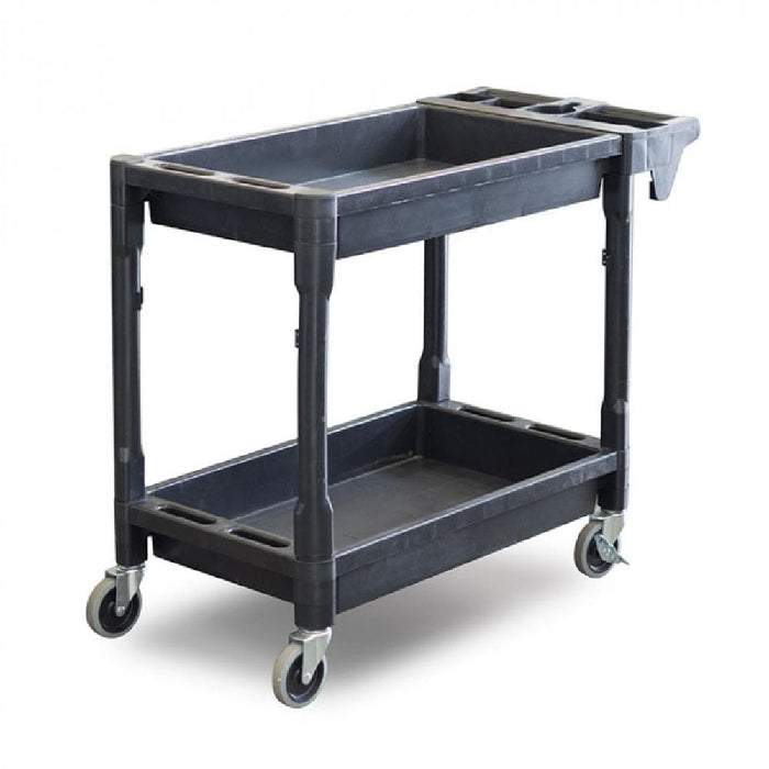 Barrier Group Plastic Utility Trolley Cart with Castors & Handle - Barrier Group - Ramp Champ