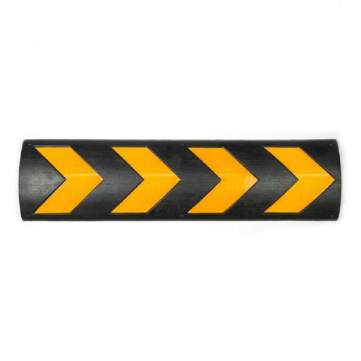 Barrier Group Wall Protector 800 x 220 x 32mm Black/Yellow - Recycled Rubber - Barrier Group - Ramp Champ