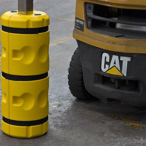 Barrier Group Warehouse & Factory Yellow Foam Column Cushion Kit