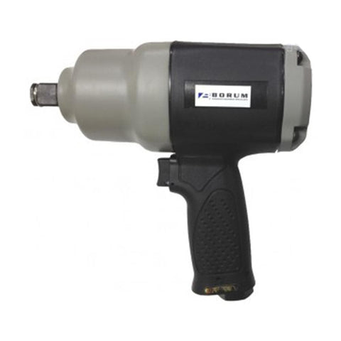 "Borum 3/4"" Drive Twin Hammer Composite Air Impact Wrench"