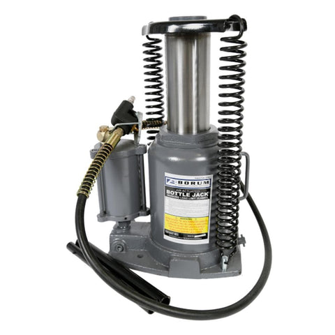 Borum Industrial Air/Hydraulic Bottle Jack, 35,000kg - Borum - Ramp Champ
