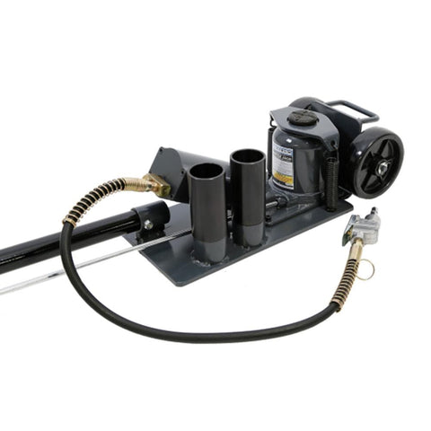 Borum Industrial Bottle Jack Air/Hydraulic, 20,000kg