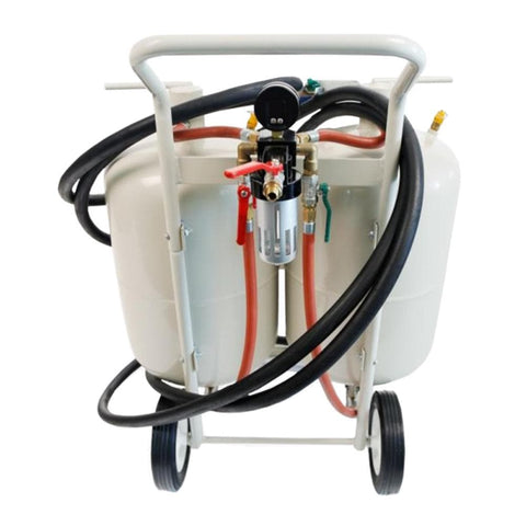 Borum Industrial Dual Media Blasting Kit, 75 Litre - Borum - Ramp Champ