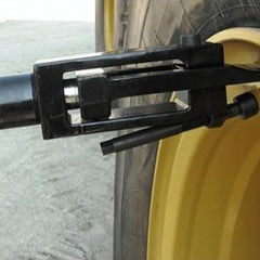 Borum Industrial Hydraulic Tyre/Earthmover Bead Breaker, 13,000kg