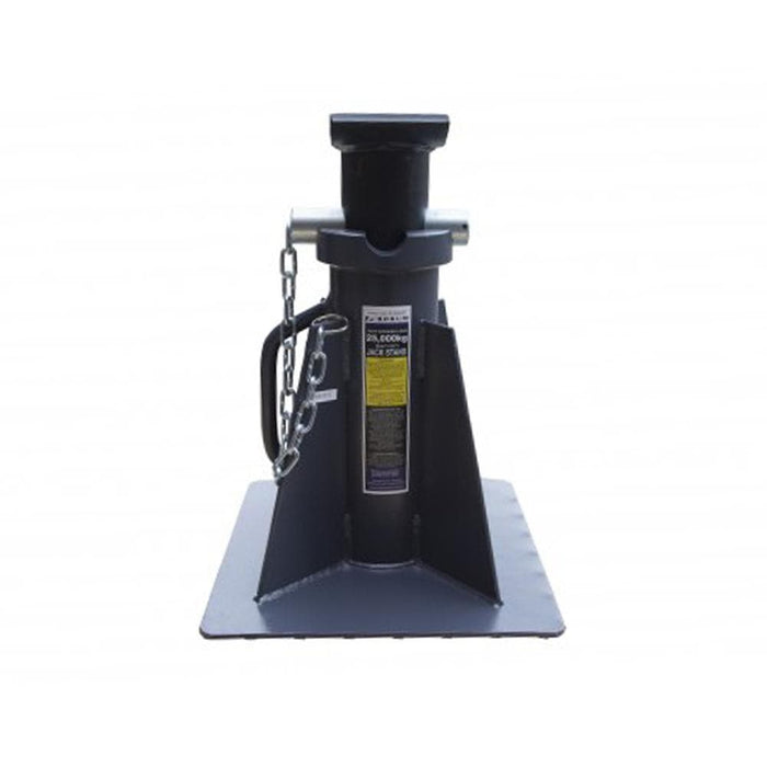Borum Industrial Pin-Style Short Jack Stand, 25,000kg - Borum - Ramp Champ