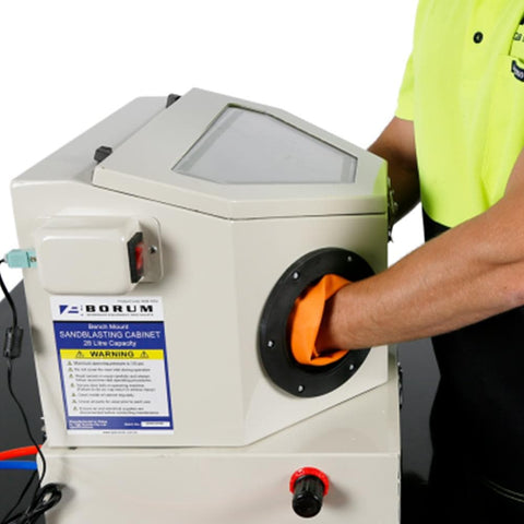 Borum Industrial Portable Micro Abrasive Blasting Cabinet - Borum - Ramp Champ