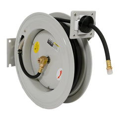 Borum Industrial Wall-Mountable Air Hose Reel 10mm x 15m