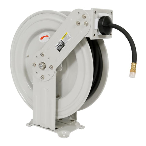 Borum Industrial Wall-Mountable Air Hose Reel 6mm x 15m