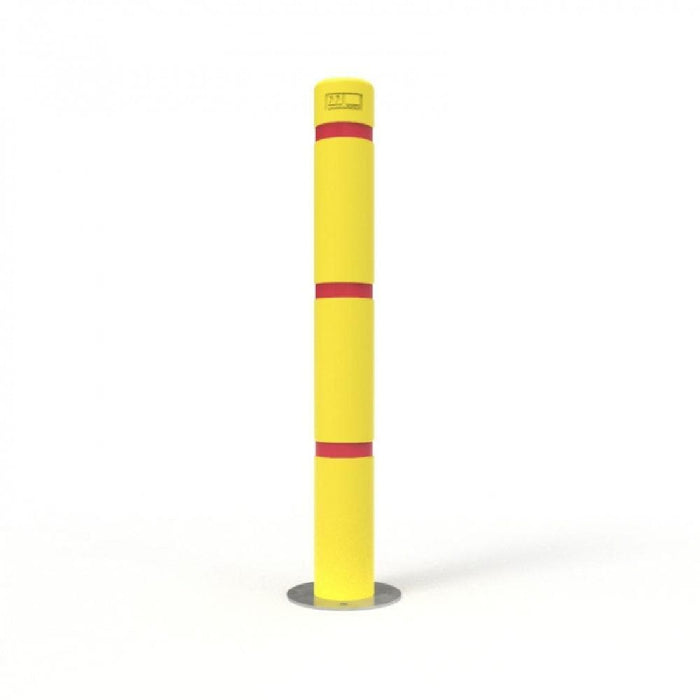 Barrier Group Heavy Duty Gal-Plus Round Bollard with Skinz - Barrier Group - Ramp Champ