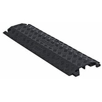 Checkers 2 Channel Drop Over - Large - Black Cable Protector - Checkers - Ramp Champ