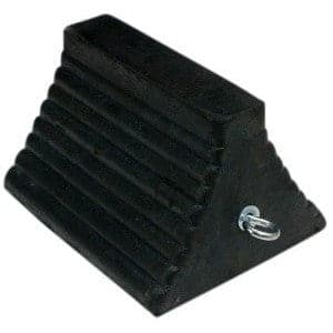 Checkers Heavy Duty Rubber Commercial Wheel Chock - Truck Series - Checkers - Ramp Champ
