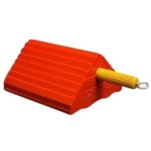 Checkers Urethane Wheel Chock 13.6-Tonne to 27-Tonne Capacity - Small - Checkers - Ramp Champ