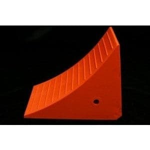 Checkers Urethane Wheel Chock for Mining Vehicles, 166-Tonne Capacity - Checkers - Ramp Champ