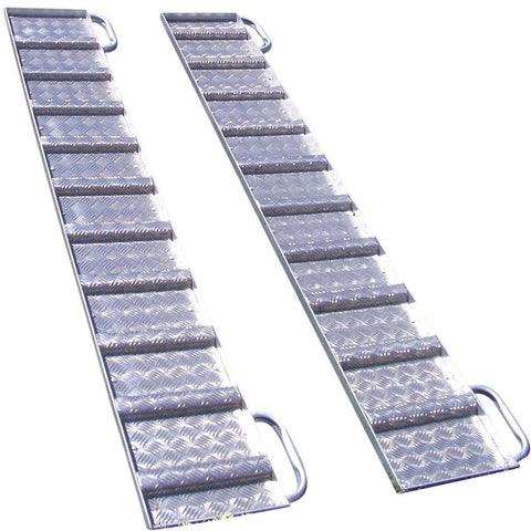 Atlex 2.1m x 300mm Aluminium Loading Ramps, Pair - Atlex - Ramp Champ
