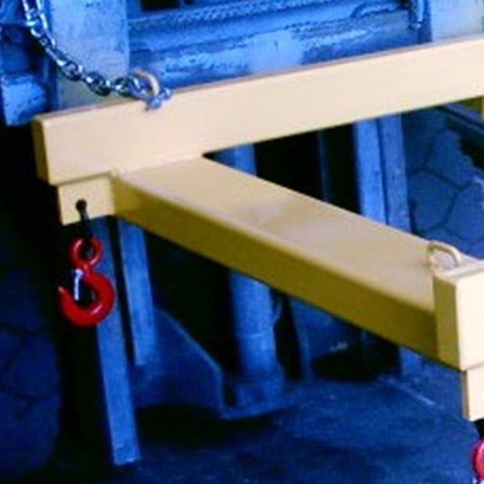 DHE 2-Tonne Bulk Bag Carrier Forklift Attachment - DHE - Ramp Champ