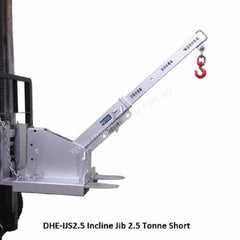 DHE 2.5-Tonne Incline Jib Lifting Crane Forklift Attachment