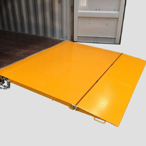 DHE  6.5 Tonne Self Levelling Container Ramp Standard Duty - DHE - Ramp Champ