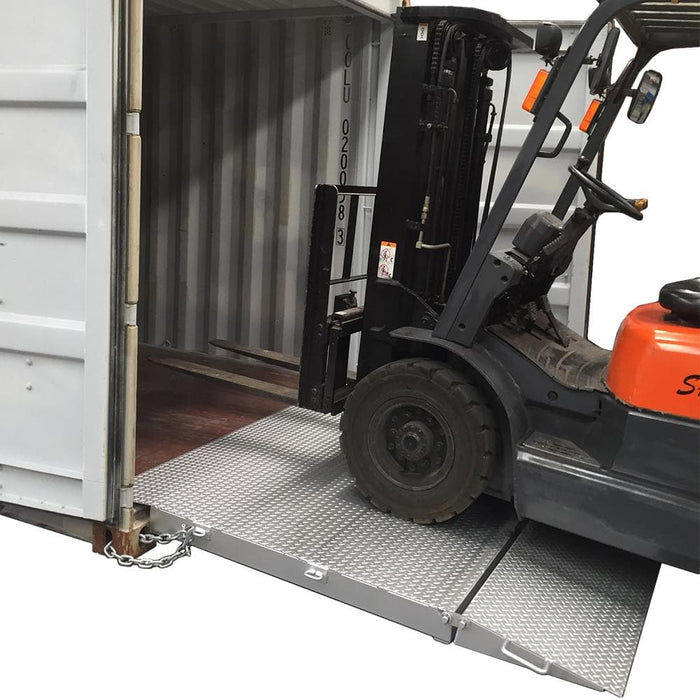 DHE 8-Tonne Steel Container Floor Ramp - DHE - Ramp Champ