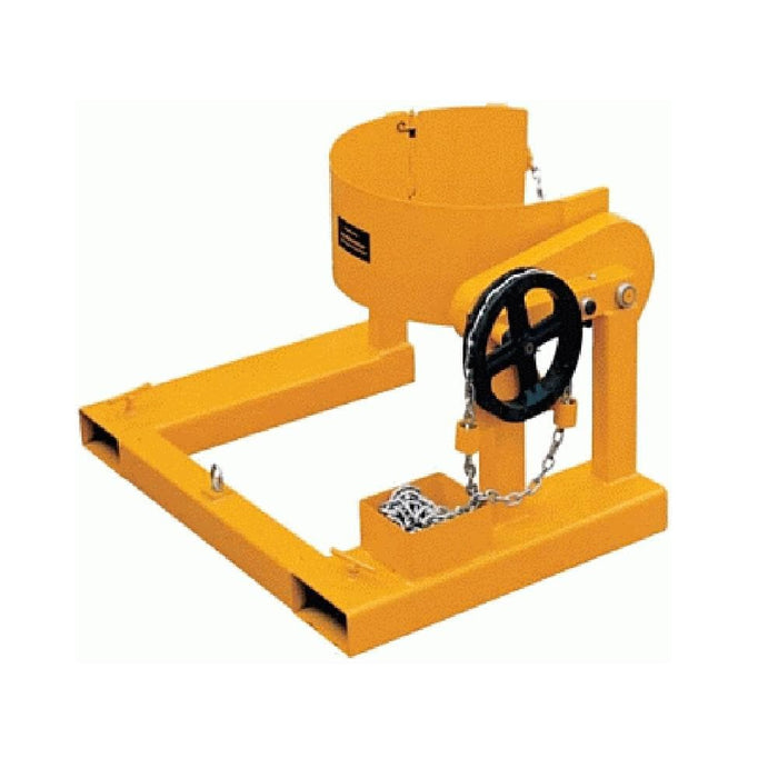 DHE Drum Rotator Handler Forklift Attachment - DHE - Ramp Champ