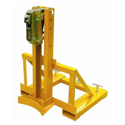DHE Gator Grip Drum Grab Lifter Forklift Attachment - DHE - Ramp Champ