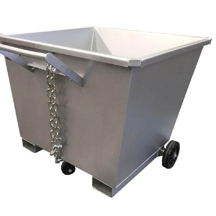 DHE Lightweight Skip Tipping Bin Forklift Attachment - DHE - Ramp Champ