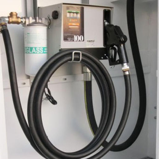 Equipco Self100 240v Fuel Bowser System for Diesel Transfer - Equipco - Ramp Champ