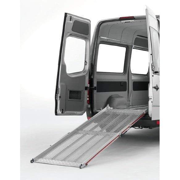 FEAL 2.02m Bi-Fold Commercial Aluminium Vehicle Ramp, 600kg Capacity - Feal - Ramp Champ