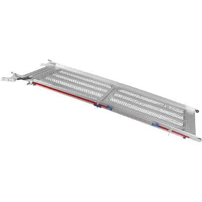 FEAL 2.87m Bi-Fold Commercial Aluminium Vehicle Ramp, 500kg Capacity