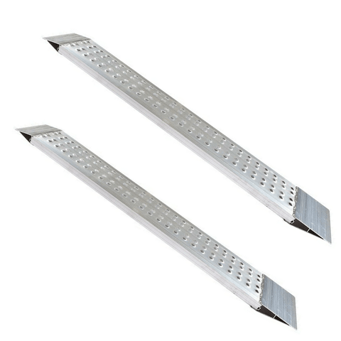 FEAL 2.5m x 800kg Heavy-Duty Rigid Aluminium Loading Ramps, Pair