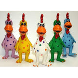 Globkens Latex Squeaky Chicken Dogs Chew Toy (Free Gift)