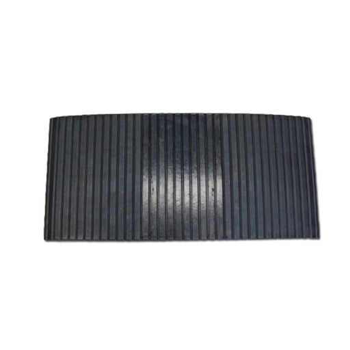 Heeve Traffic Control & Parking Equipment Heeve Solid Rubber Pedestrian Ramp 380mm Wide for 80mm Hoses