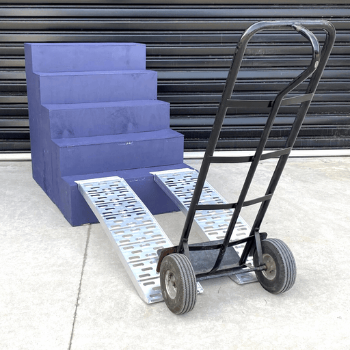 Heeve Mobility Ramps Heeve Aluminium Curved Multi-Use Loading Ramps