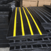 Heeve Traffic Control & Parking Equipment Heeve Driveway Rubber Kerb Ramp in 1.2m Sections for Rolled-Edge Kerb