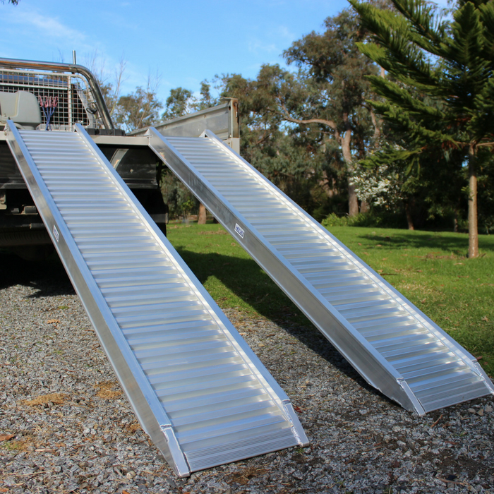 Heeve 2.5-Tonne 2.3m x 380mm Aluminium Loading Ramps - Heeve - Ramp Champ