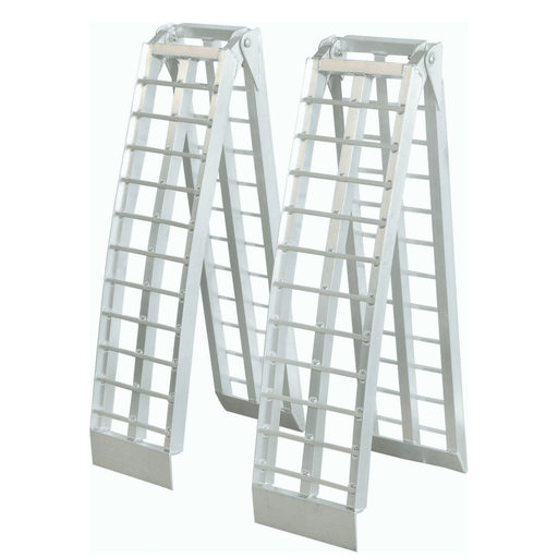 Heeve 2.3m x 1-Tonne Aluminium Curved Folding Heavy-Duty Loading Ramps - Heeve - Ramp Champ