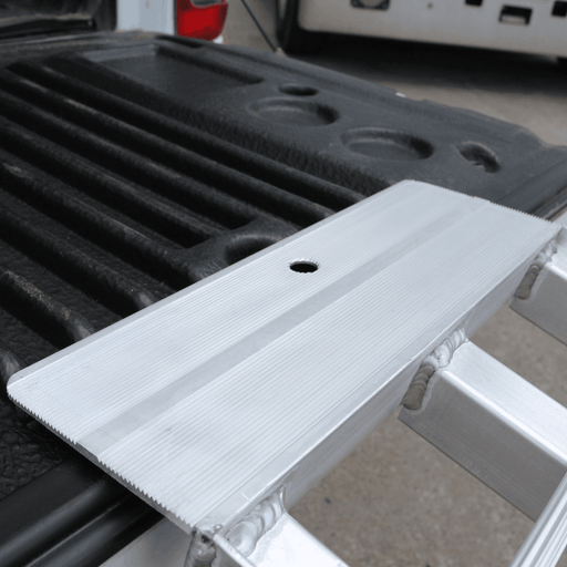 Heeve 2.3m x 1.3-Tonne Alum Curved Folding Heavy-Duty Lawn Mower Ramps
