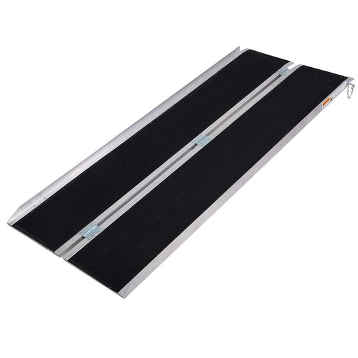 Heeve Aluminium Single-Fold Super-Grip Wheelchair Ramp (Open Box) - Heeve - Ramp Champ