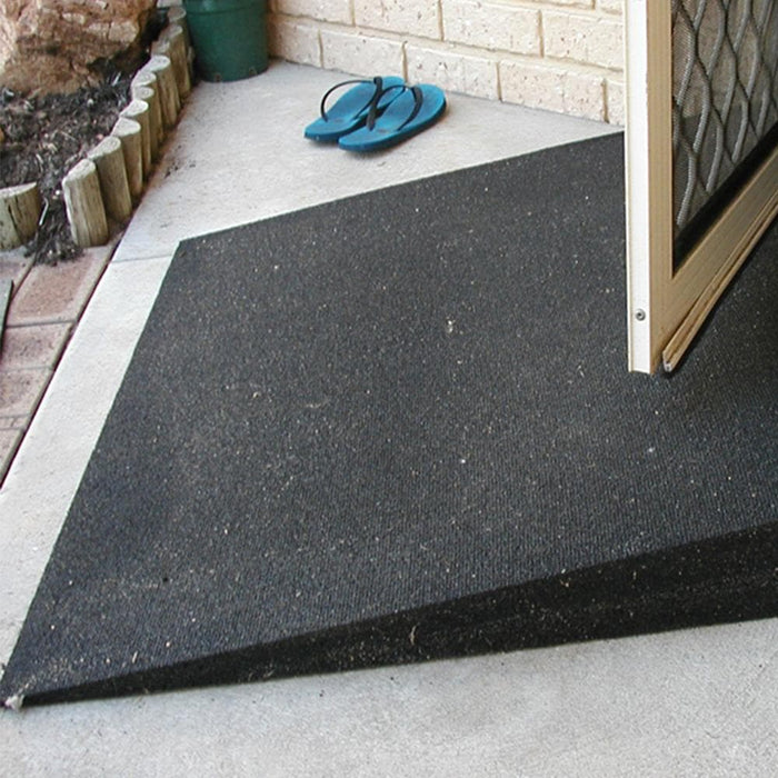 Heeve Rubber Wheelchair Threshold Door Ramp 1:10 Gradient - Heeve - Ramp Champ