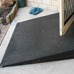 Heeve Rubber Wheelchair Threshold Door Ramp 1:10 Gradient