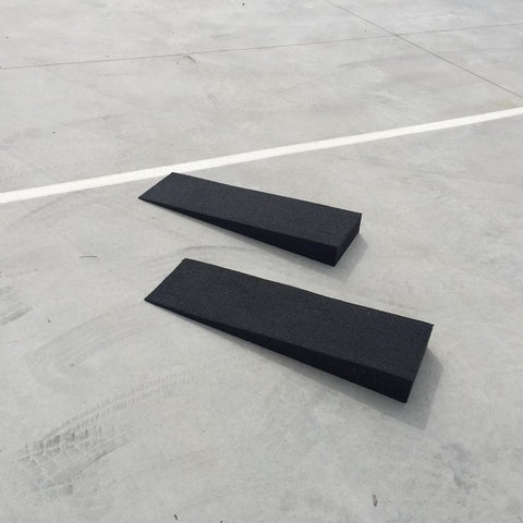Heeve Solid Rubber Car Loading Ramps