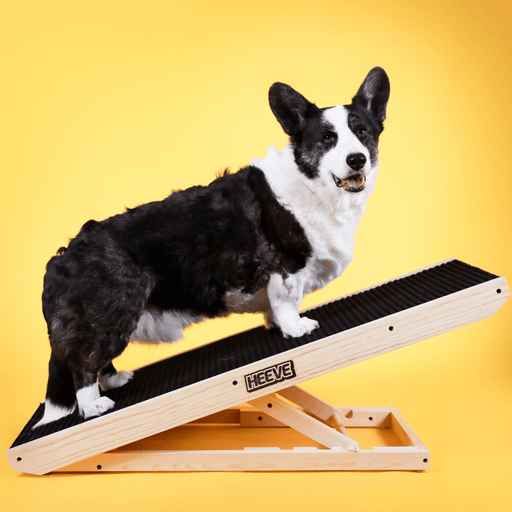 Heeve Pet Products Heeve 'Up-Ya-Get' Wooden Dog Ramp For Beds & Couches - Open Box