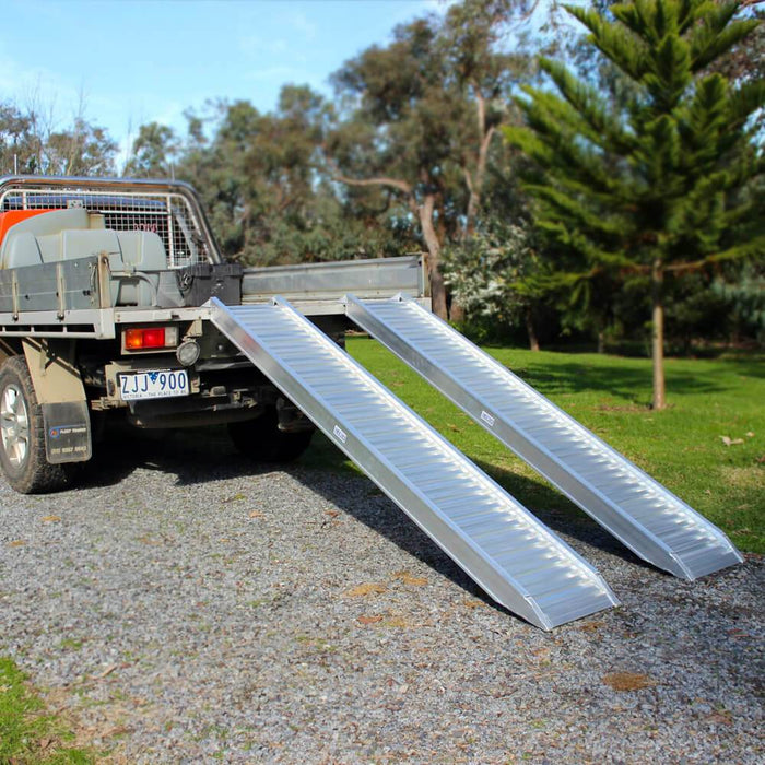 Heeve Construction & Machinery Heeve 2.5-Tonne 2.3m x 380mm Aluminium Loading Ramps