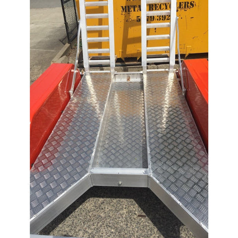Auswide Plant Trailer Extra Wide Deck - 1370mm Wide - AusWide - Ramp Champ